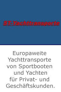 ST Yachttransporte