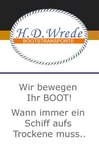 Wrede Bootstransporte