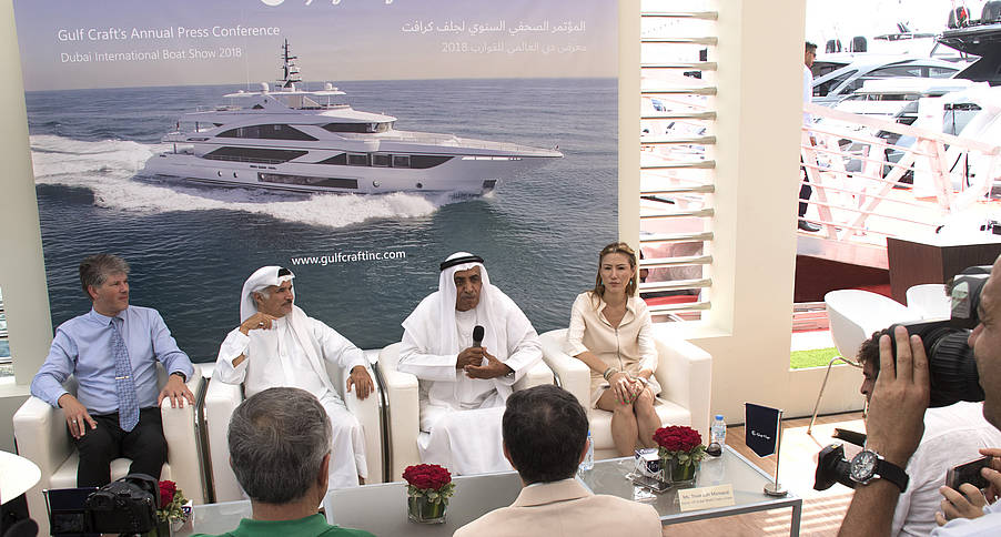 Dubai International Boat Show 2018: Die Neuvorstellung der Gulf Craft Majesty 140