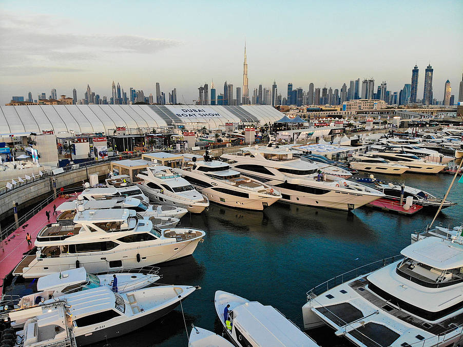 Dubai International Boat Show 2018 Gulf Craft Yachten